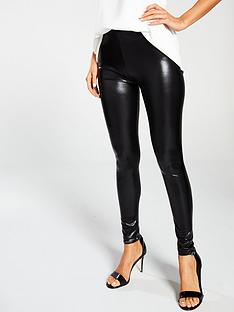 ann-summers-wet-look-legging-black