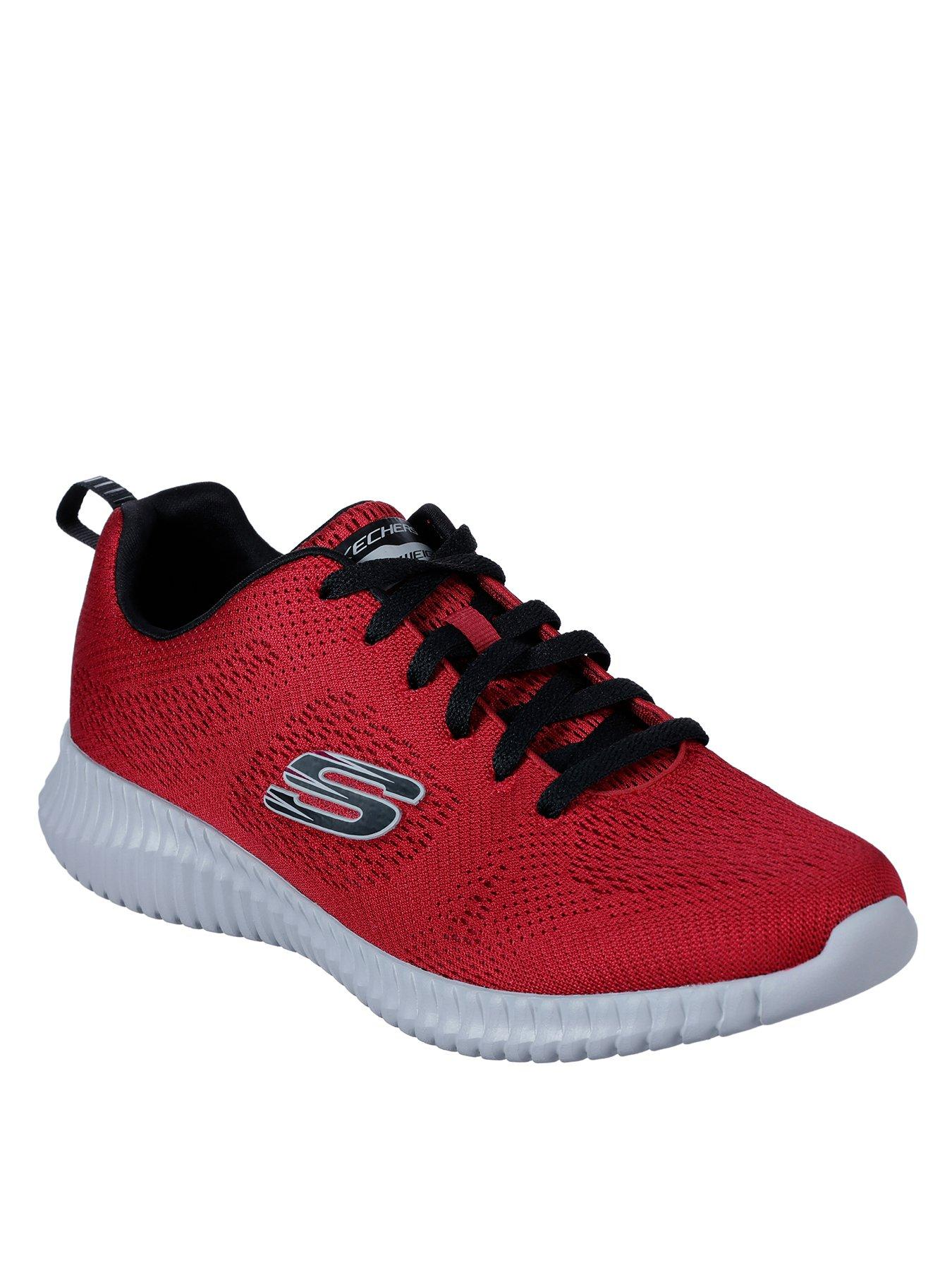 Skechers Lace up Mesh Jogger With Air cooled Memory Foam