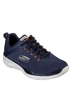 67a8fb68dfb6 Skechers Skechers Relaxed Fit Lace-up Jogger With Hot Melt Heel Brace    Air-cooled Memory