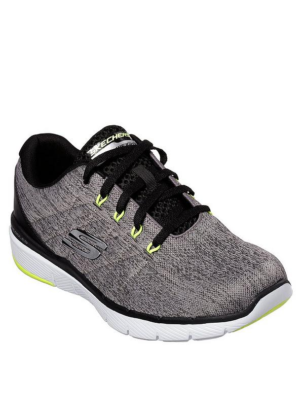 grote korting amazone professionele verkoop Skechers Lace-up Mesh Jogger With Air-cooled Memory Foam