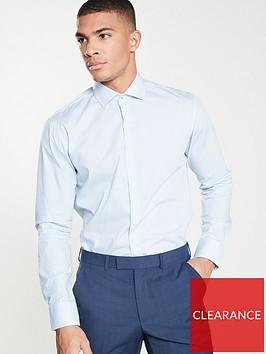 ted-baker-micro-geo-endurance-shirt-blue