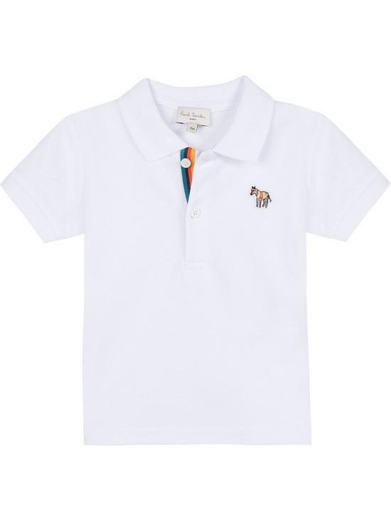 323d30dd7 Paul Smith Junior Boys Short Sleeve Zebra Badge Polo