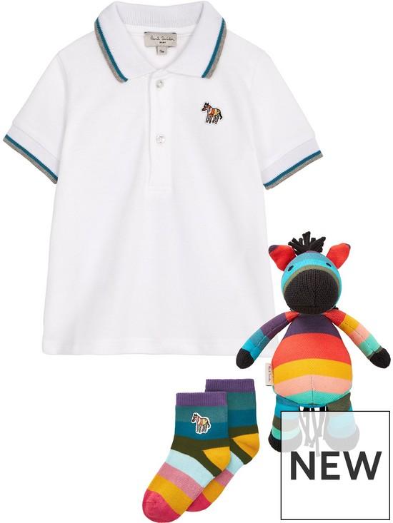 f72cb1f44 Paul Smith Junior Baby Boys Polo Shirt