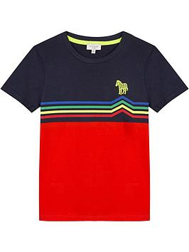 paul-smith-junior-boys-neon-zebra-colourblock-t-shirt