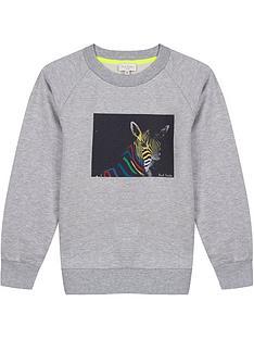 paul-smith-junior-boys-neon-zebra-crew-neck-sweatshirt