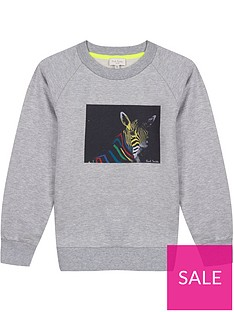 paul-smith-junior-boys-neon-zebra-crew-neck-sweatshirt