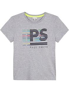 paul-smith-junior-boys-short-sleeve-logo-t-shirt--nbspgrey