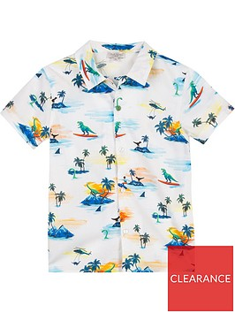 paul-smith-junior-short-sleeve-dino-shirt