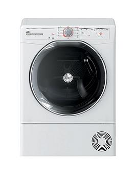 Hoover Axi Atdhy10A2Tkex 10Kg Load, Aquavision, Hybrid Heat Pump Tumble Dryer With One-Fi Extra - White