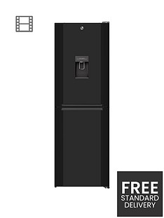 hoover-h1826mnb5bwk-60cmnbspwide-total-no-frost-fridge-freezer-with-water-dispenser-black