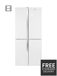 hoover-hfdn180uk-785cmnbspwide-total-no-frost-4-door-american-style-fridge-freezer-white