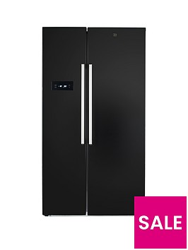 hoover-hsbsf178bk-908cmnbspwidenbsptotal-no-frost-2-door-american-style-fridge-freezer-black