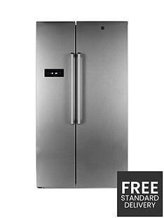 Hoover HSBSF178XK 90.8cm Total No Frost 2 Door American Style Fridge Freezer - Stainless Steel