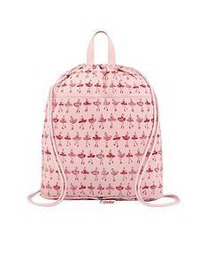 cath-kidston-cath-kidston-kids-ballerina-foldaway-drawstring-bag