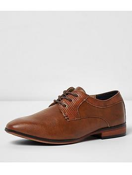 river-island-boys-tan-brown-pointed-brogue-shoes