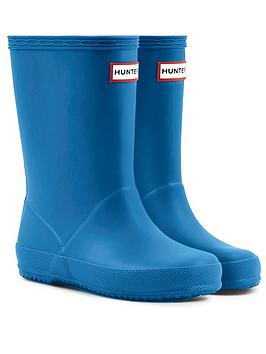hunter-kids-first-classic-wellington-boots-bucket-blue
