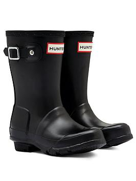 hunter-original-kids-wellington-boots-black