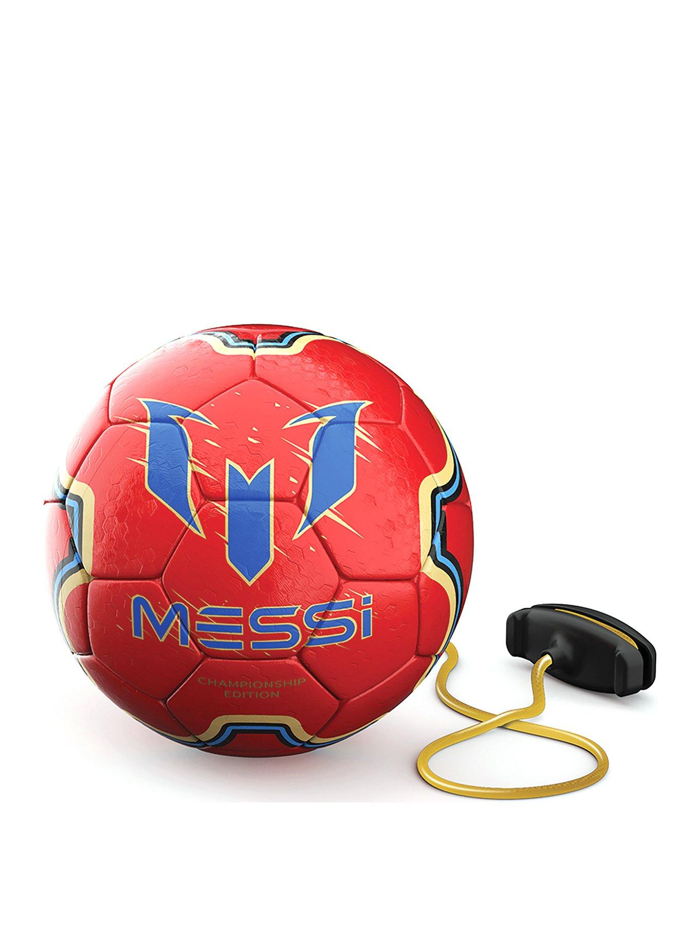 Messi MET24100 2 in 1 Soft Touch Training Ball Refresh Red