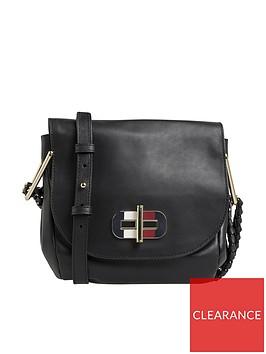 tommy-hilfiger-soft-turnlock-mini-saddle-bag-black