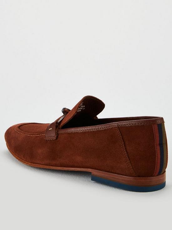 44d2e35f64caf Siblac Tassel Loafer Shoes - Brown
