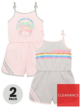 v-by-very-girls-2-pack-playsuitsnbsp--multi