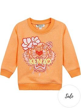 kenzo-girls-tiger-embroidered-sweatshirt
