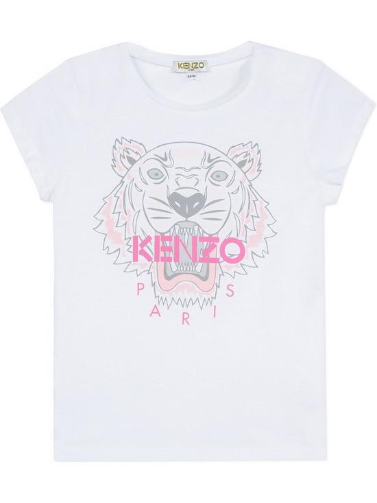 4b2b2b38 Kenzo Girls Classic Tiger Short Sleeve T-shirt | very.co.uk