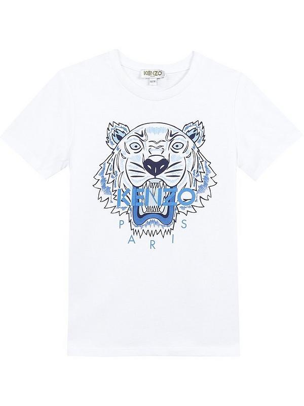73297f5b32d6 Kenzo Boys Classic Tiger Short Sleeve T-shirt   very.co.uk