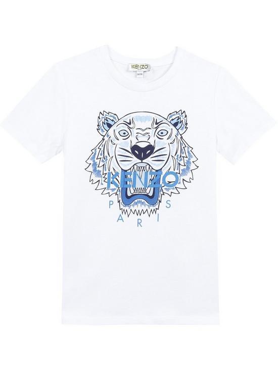3e127464 Kenzo Boys Classic Tiger Short Sleeve T-shirt | very.co.uk
