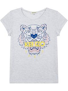 kenzo-girls-short-sleeve-marl-tiger-print-t-shirt