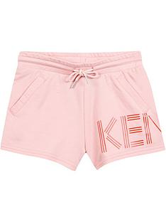 kenzo-girls-logo-jersey-shorts