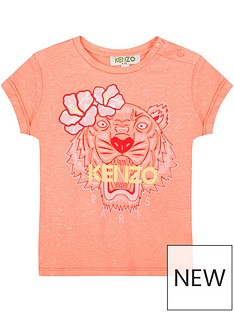 kenzo-girls-short-sleeve-marl-tiger-print-t-shirt