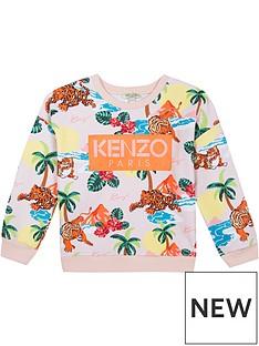 kenzo-girls-hawai-tiger-print-logonbspsweatshirt