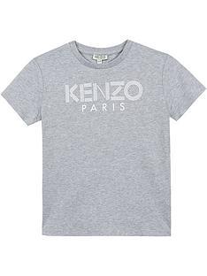 kenzo-boys-short-sleeve-logo-t-shirt