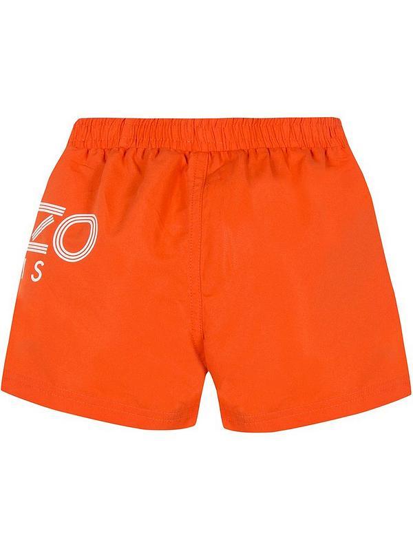 29f3684c05 Kenzo Boys Logo Swim Shorts | very.co.uk