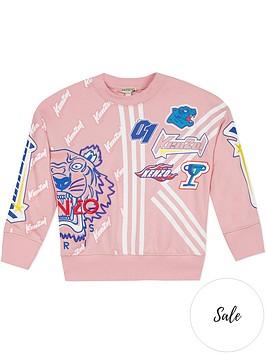 kenzo-girls-embroidered-tiger-racing-sweatshirt-pink