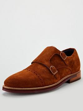 ted-baker-clinntenbspdouble-buckle-monk-shoe-tan
