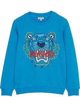 kenzo-boys-classic-tiger-embroidered-sweatshirtnbsp--blue