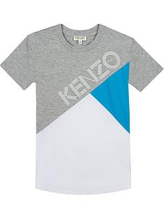 kenzo-boys-short-sleeve-colourblock-logo-t-shirt