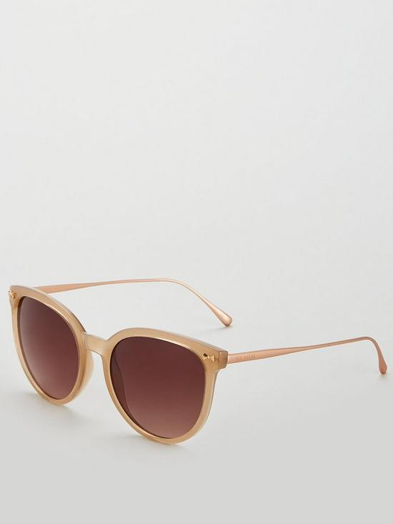 d2c6785d3964 Ted Baker Maren Oval Sunglasses - Taupe