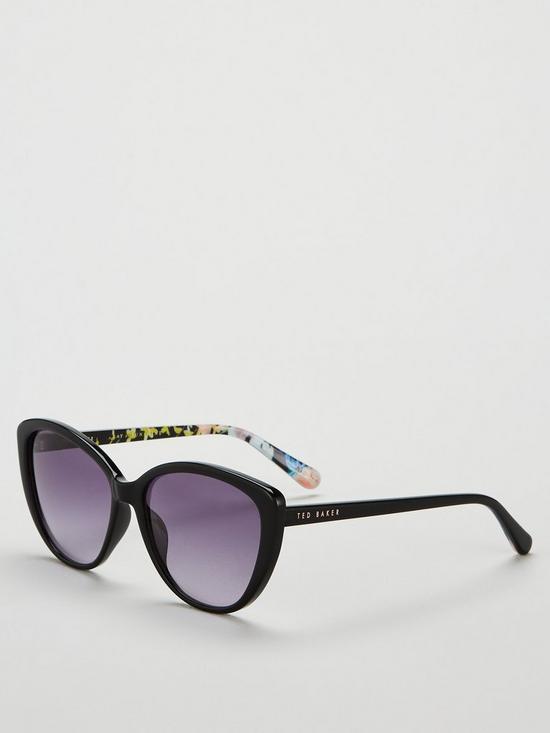 b3befaec0a48 Ted Baker Jazz Cateye Sunglasses - Black