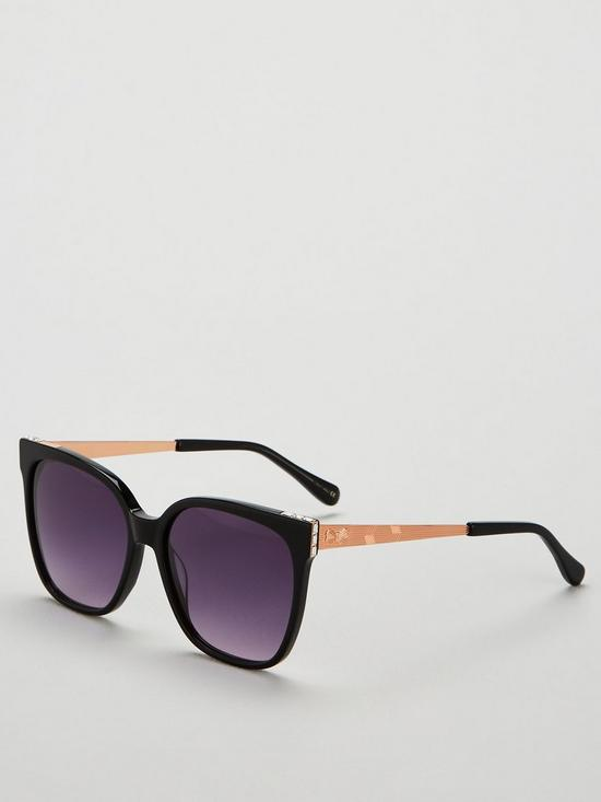 a2e25f735b84 Ted Baker Skye Square Frame Sunglasses - Black