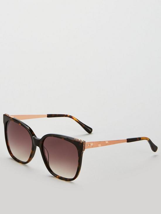 78f92c98494 Ted Baker Skye Square Frame Sunglasses - Tortoiseshell