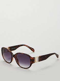 karen-millen-oval-tort-sunglasses