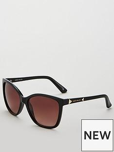 karen-millen-karen-millen-cateye-stud-arm-black-sunglasses