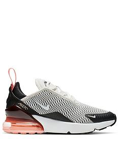 best sneakers d4390 0a900 Nike Air Max 270 | Trainers | Child & baby | www.very.co.uk