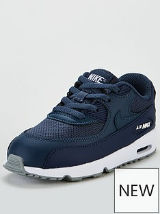 nike-air-max-90-mesh-infants-trainers-navy-blue