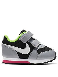 78e7f5086999 Nike MD Runner 2 Infants Trainers - Black White Pink