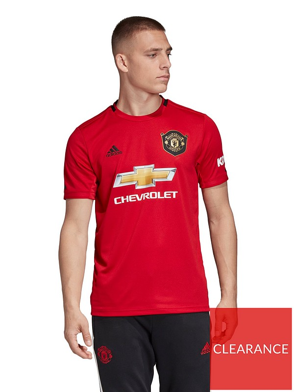 adidas manchester united 19 20 home shirt red very co uk manchester united 19 20 home shirt red