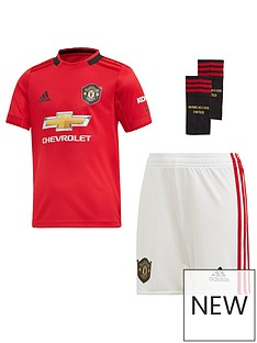 bbcacad6f adidas Manchester United Infant 2019 20 Home Mini Kit - Red